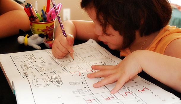 Rinoa doing math.