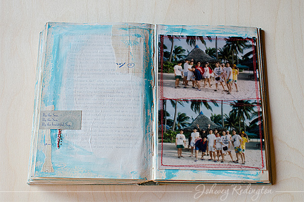 Altered Book Album by Johwey Redington