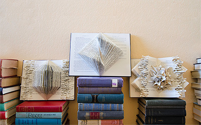 Choosing the Right Book for a Book Sculpture Project