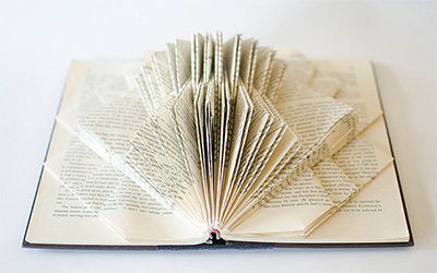 Introductory Book Sculpture Lesson