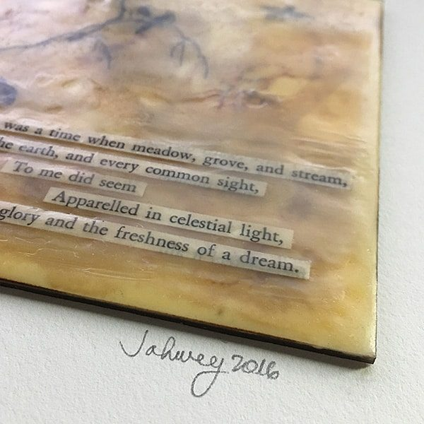 """In Celestial Light"" Encaustic Painting"