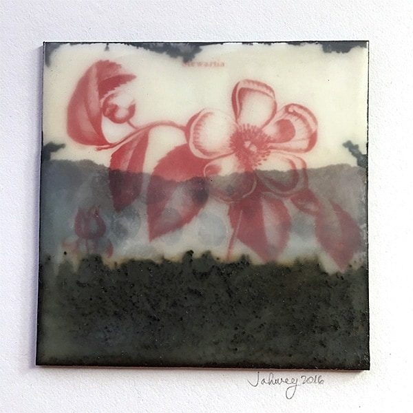 """Untitled"" Encaustic Painting"