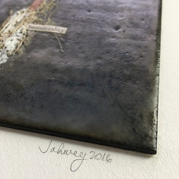 """Immortality"" Encaustic Painting"