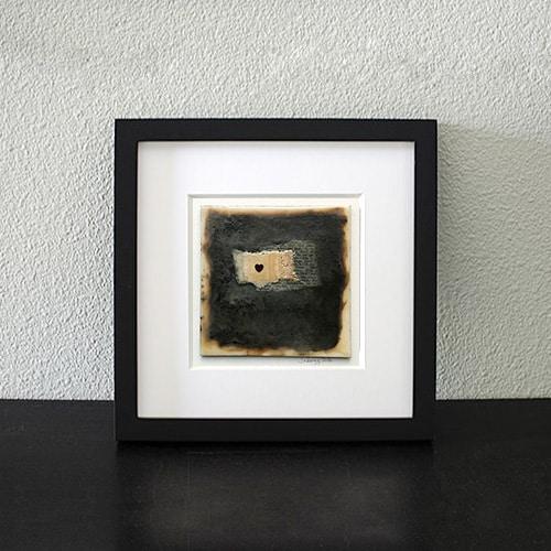"""""""Love"""" Encaustic Painting"""