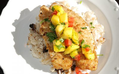 Moroccan-Style Tilapia