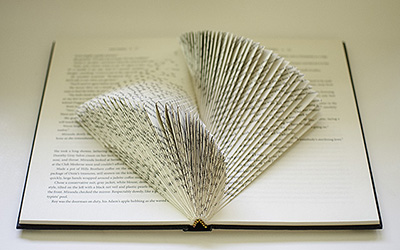 Book Sculpture Tutorial: The Yin-Yang