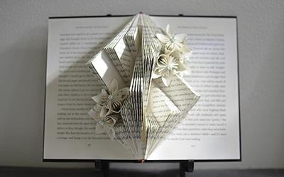 Book Sculpture Tutorial: The Dickinson