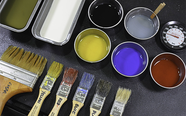 Encaustic Materials: The Heated Palette