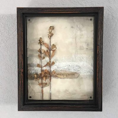 """Leaves of Time"" Shadowbox Art"