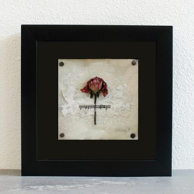 """Rhapsody"" Shadowbox Art"