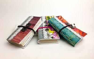 Mini Pocket Journals, Patchwork Series