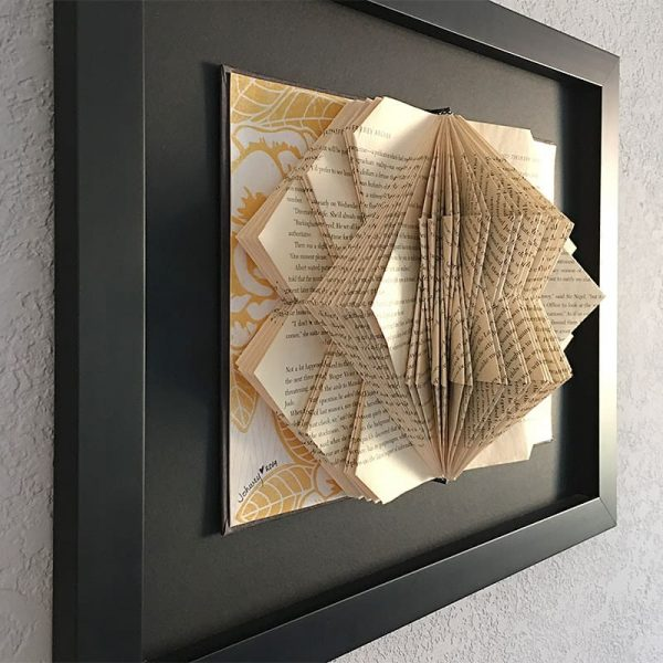 Utzon Book Sculpture with Frame