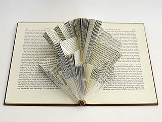 Book Sculptures: The Deconstructed Series