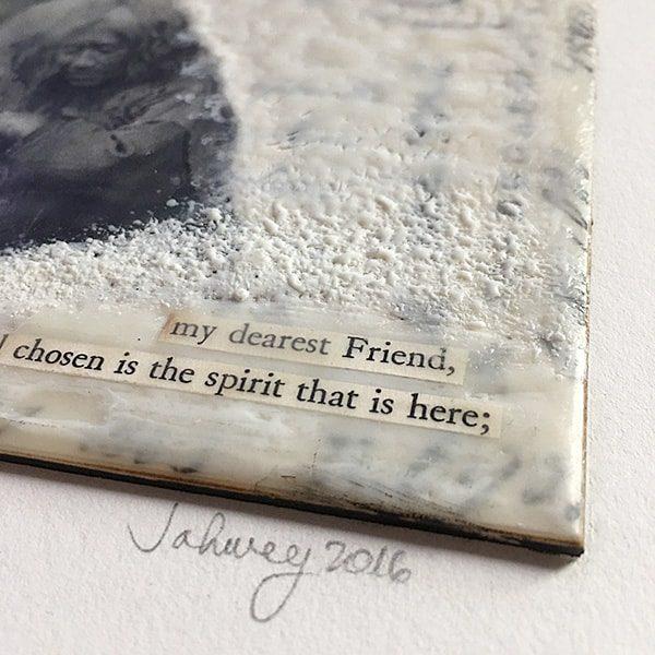 """""""Well Chosen Spirit"""" Encaustic Painting"""