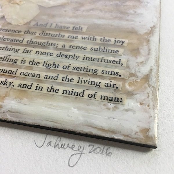 """""""Of Elevated Thoughts"""" Encaustic Painting"""