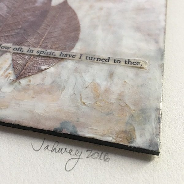 """In Spirit"" Encaustic Painting"