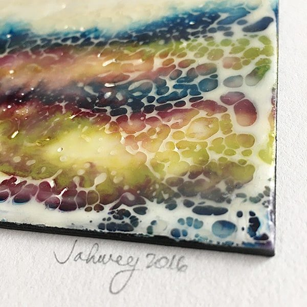 """A Summer's Mood I"" Encaustic Painting"