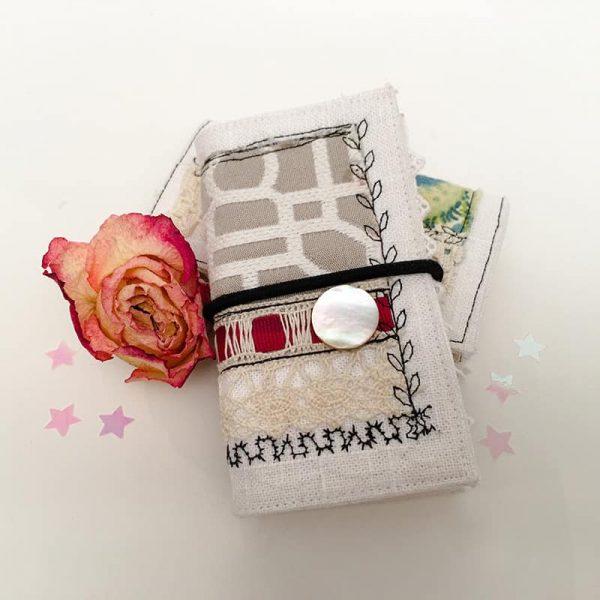 Taupe Gray Mini Journal