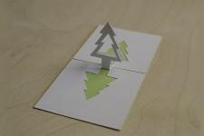 Christmas Tree Popup Card Tutorial