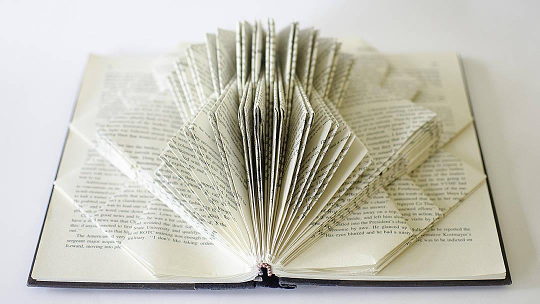"""Utzon"" Book Sculpture by Johwey Redington, 2012"