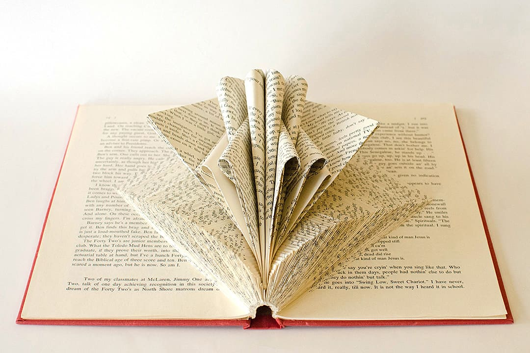 """Calatrava II"" Book Sculpture by Johwey Redington, 2012"