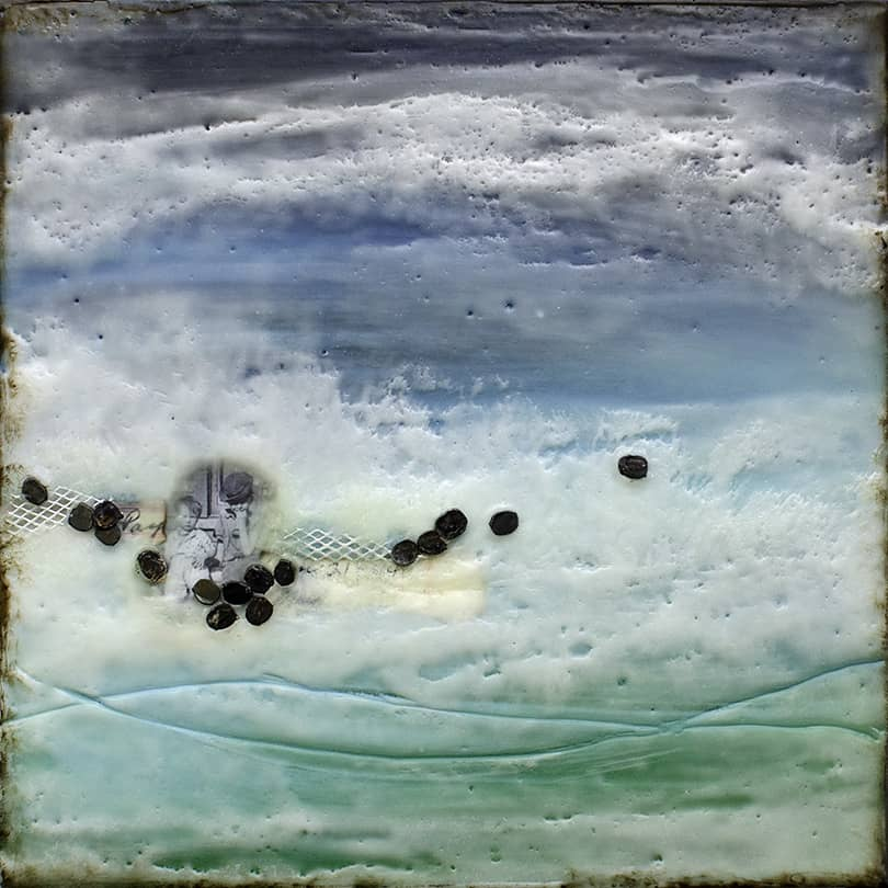 """Prelude No. 2"" Encaustic Painting, 2015"