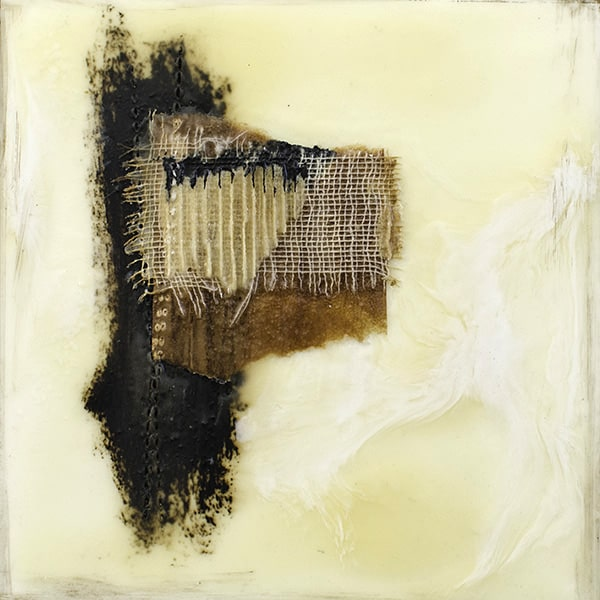 """Untitled"" Encaustic Painting, 2016"