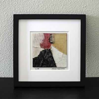 """Amaryllis II"" Encaustic Painting, 2016"