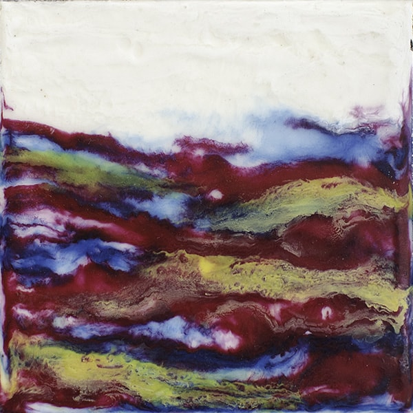 """Kaleidoscope World"" Encaustic Painting, 2016"