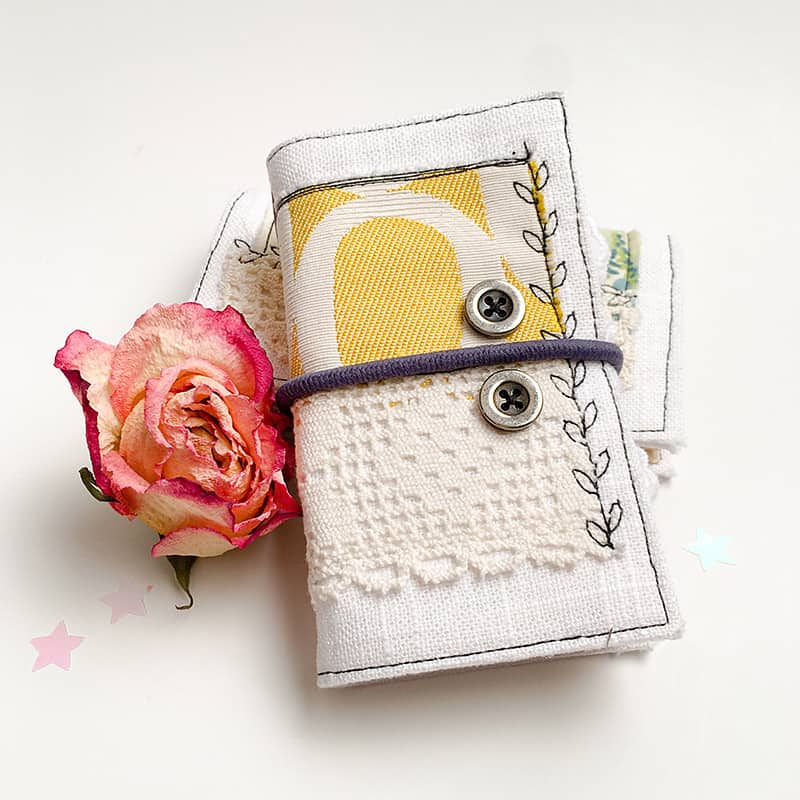 Front of the Mini Journal