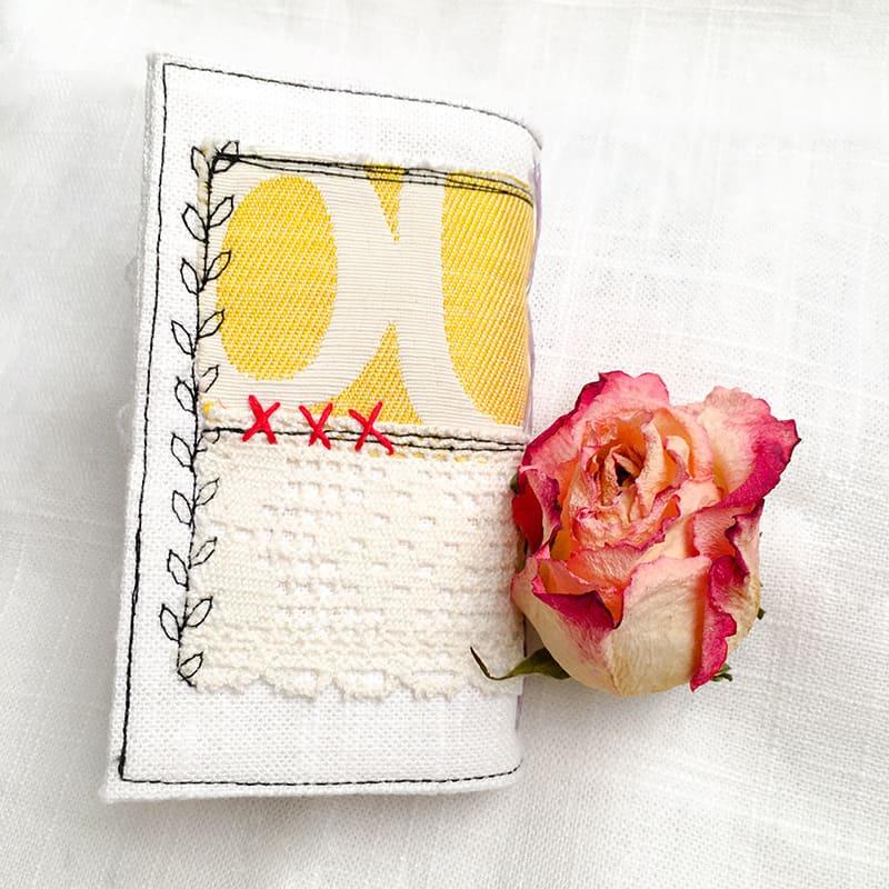Back of the Mini Journal