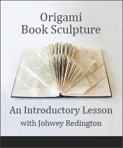 Book Sculpture Tutorial