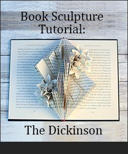 Book Sculpture Tutorial: The Ying Yang