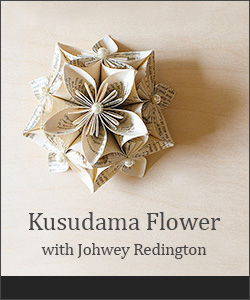 Kusudama Flower Tutorial